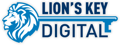 Lion's Key Digital Logo